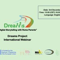 INTERNATIONAL WEBINAR ON DIGITAL STORYTELLING WITH ROMA PARENTS